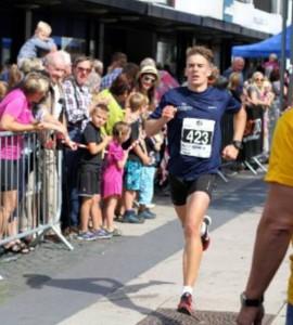 Mål Christian Fredrik løpet i Moss